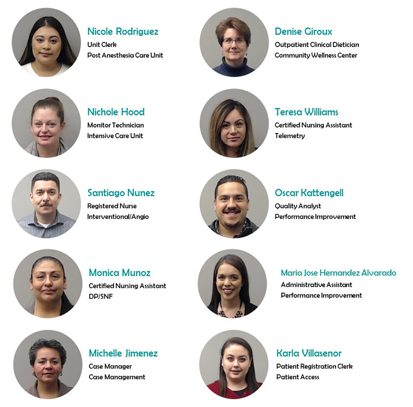 December 2018 New Hires